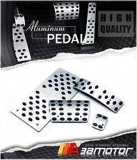 Aluminum Auto Pedal Set Gas Brake Dead Pedals for 2005-2010 Chrysler 300 300C