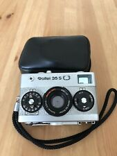 """Rollei Singapore - Rollei 35S silver Sonnar 2.8/40 """"US Lorbeer Edition"""" Oak"""