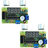 2X DIY Kit Ultrasonic Range Finder Distance Measuring Transducer Suite DC 4.5-6V