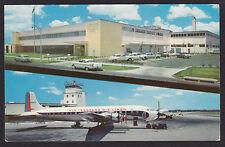 St Petersburg-Post Office-Car-Airport-Eastern Airlines-Airplane-Vintage Postcard
