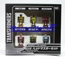 95718 Transformers Takara Legend Exclusive LG-EX Headmaster Set of 6