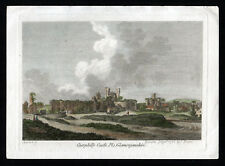 CAERPHILLY CASTLE GLAMORGANSHIRE 1786 James Sparrow - Paul Sandby ENGRAVING