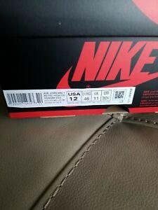"Nike Air Jordan 1 Retro High OG Rust Shadow ""Patina"" 555088-033 Men's Size 12"