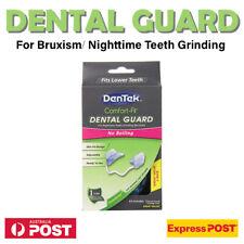 DenTek Comfort-Fit Dental Guard Kit For Bruxism Nighttime Teeth Grinding 2 Pack