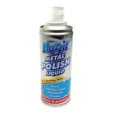 Duzzit Liquid Metal Polish Cleaner Silver Brass Steel Aluminium Chrome - 120ml