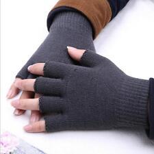 Warm Knitwear Knit Finger Gloves Mitten Half Finger