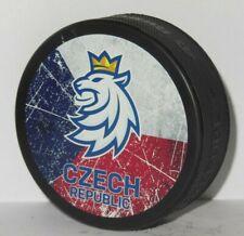 new logo @ CZECH NATIONAL TEAM hockey puck PASTRNAK Kubalik RITTICH Voracek JAGR