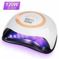 120w UV Gel Nail Lamp Gel Light Nail Dryer With Smart Sensor Timer Manicure Tool