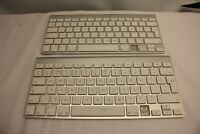 2 X APPLE KEYBOARD A1314 WIRELESS US QWERTY ENGLISH SPARE & REPAIR