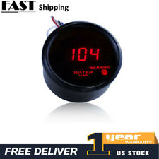 "2"" 52mm Digital LED Fahrenheit Water Temp Temperature Gauge/Sensor 104-300F A5"
