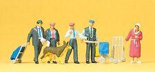Preiser 10248 Bundespost 1990 - 6 Figuren für Spur -H0- 1:87