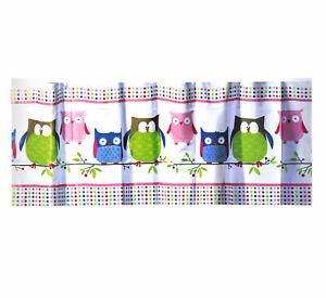 Shower Curtain Free Hooks Waterproof Bathroom Curtain Owl Design 180 x 180CM