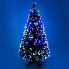 Green Christmas Fiber Optic Tree | eBay