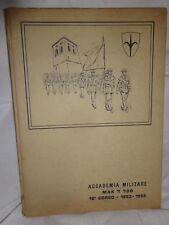 ACCADEMIA MILITARE MODENA MAK TT 100 10° corso 1953-1955