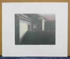 ROBERT KIPNISS ORIGINAL LITHOGRAPH SIGNED and NUMBERED 50/150
