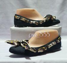 GUCCI Monogram Web Ballerina Doll Shoes Size 35C