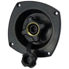 Caravan Water Filler Pressure Regulator Black Shurflo Fresh Water Inlet Recessed