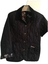 Barbour Quilted Childs Jacket Small 6/7 Years