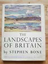The Landscapes of Britain by Stephen Bone - 1949