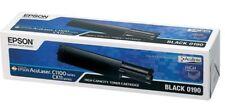 ORIGINALE Epson 0190 TONER BLACK PER ACULASER c1100 cx11 c13s050190 B OVP