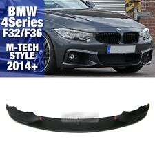 M TECH Style Performance Sports Front Lip Skirt For BMW 2014-16 4 Series F32 F36