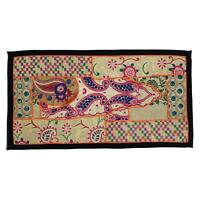 Wall Hanging Indian Hippie Bohemian Handmade Patchwork Embroidered Tapestry