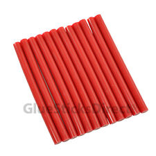 "GlueSticksDirect Red Colored Glue Sticks mini X 4"" 12 sticks"