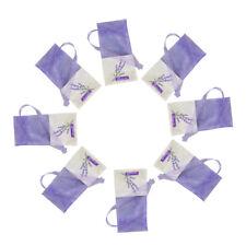 30pcs Lavender Bags Sachets Flower Printing Empty Fragrance Sachets Bag