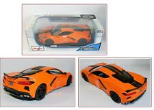Maisto Special Edition 2020 Chevrolet Corvette Stingray Coupe 1:18 Scale Orange