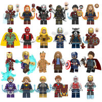 Avengers Minifigures End game Mini figures Marvel Superhero Hulk Iron Man Thor