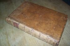 1758 The Justice of the Peace and Parish Officer by Richard Burn 5th Ed (T1)