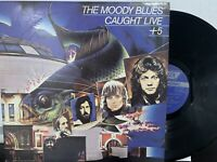 The Moody Blues – Caught Live +5 2x LP 1986 London Records – 2 PS 690/1 EX/NM