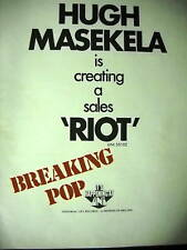 Image result for hugh masekela riot