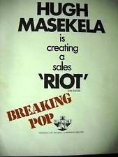 Image result for hugh masekela riot