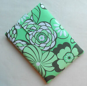 Handmade iPad mini & Kindle Fire case/cover/pouch. Amy Butler cotton fabric.