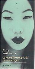 AKIRA YOSHIMURA La jeune fille suppliciée sur une étagère + PARIS POSTER GUIDE
