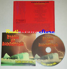 CD STORM OF DAMNATION Tears catch fire SWR004 lp mc dvd