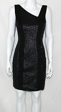 Jessica Simpson NEW Sleeveless Sequined Lace Cocktail Dress REG 6