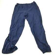 VINTAGE Nike Pants Size Extra Large XL Jogger Track Pant Nylon Men Gray Tag 90's
