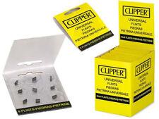Genuine CLIPPER Lighter FLINTS - FULL BOX 24 packs- 9 count each -216 total
