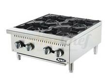 """NEW 24"""" Hot Plate Cook Top Range Atosa ATHP-24-4  Open Burner Stove"""