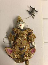 Antique Vintage Marionette Puppet   attic find!!