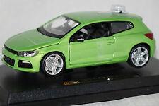 VW Scirocco III grün metallic 1:24 Bburago neu & OVP 18-21060