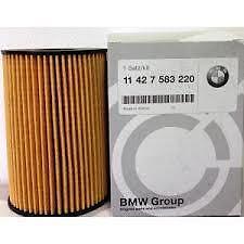 BMW Genuine Oil Filter Kit E70, F10/11/12 (5, 6, 7 Series, X5, X6) 11427583220