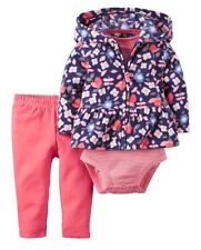 NWT Carters Little Girls 3-piece Little Jacket Set Size:24 month Msrp:$32