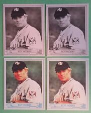 Roy Hobbs Robert Redford New York Knights lot (4) all diff Baseball Cards