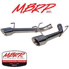 MBRP S7202304 DUAL AXLE BACK MUFFLER DELETE EXHAUST KIT 2005-2010 MUSTANG GT