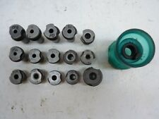 "15 Slip Fit Number Letters 1/2"" & 3/4"" OD Drill Bushings and Drill Cup"