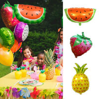 Watermelon Shaped Fruit Balloons Wedding Birthday Kid Favour Gifts Party Decor
