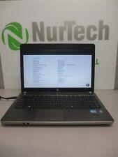"HP ProBook 4430s 14"" i3 2.1GHz 4GB/250GB Webcam Linux ""NO BATTERY"" Laptop +AC"
